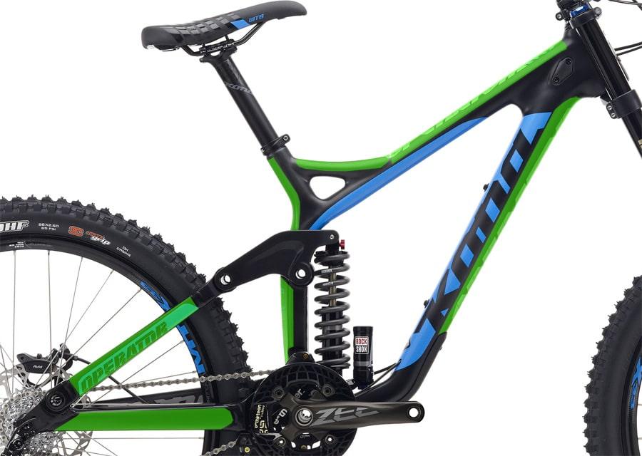 KONA Operator Carbon – easy-frame.com | bike-lackschutzfolie